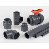 China 1'' Sch 80 PVC Pipe With High Pressure For Home Plumbing and Irrigation System on sale