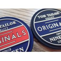 Buy cheap High Quality Customized Garment Labels 3D PVC Rubber Silicon Bag Label Patch from wholesalers