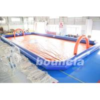 Buy cheap Bubble Football Arena , Sport Arena For Inflatable Bumper Ball With PVC Tarpaulin from Wholesalers
