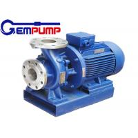 Buy cheap ISW Horizontal  Hot Water Booster Pump / Pipe Centrifugal Pump from Wholesalers