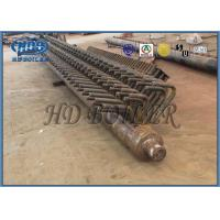 Buy cheap Power Plant Boiler Steel Headers , ASME standard Boiler Parts from Wholesalers