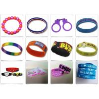 Beautiful Design Silicone Rubber Products Personalized Rubber Bracelets