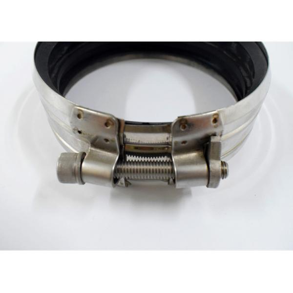 Robust quick hose coupling heavy duty pipe clamps with