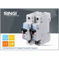 Buy cheap Breaking capacity reach to 10000 C25 1p waterproof miniature circuit breaker (mcb) from Wholesalers