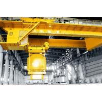 Buy cheap Intelligent Overhead Crane for Smelting Feeding Capacity: 40-60t Span: 19.5m, 22.5m Lifting Height: 35-40m from Wholesalers