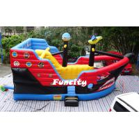Buy cheap Kid AttractiveInflatable Combo Bouncers Pirate Ship Bouncer For Amusement Park from Wholesalers