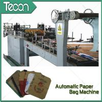 Buy cheap 3 Kraft Paper 1 PP Film 20KG Ceramic Adhesive Paper Bag Making Machine Driven By Schneider Electric Motor from Wholesalers
