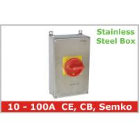 Buy cheap Stainless Steel Isolator Switch 3 Pole from Wholesalers