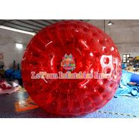 Buy cheap Outdoor Activities 3m 0.8mm PVC Adult Inflatable Zorb Ball With High - Strength PVC Tarpaulin from Wholesalers