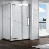 Buy cheap Nanotechnology Tempered Safety Glass Double Sliding Shower Enclosure from Wholesalers