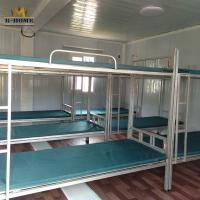 China Modern Modular Container House For Construction Site Worker Quarters factory