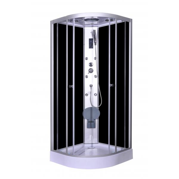 Steam Massage with Electronic computer panel Circle Quadrant Shower ...