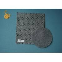 Buy cheap Needle Punched Grey Felt Fabric Exhibition Carpet in stock 4 Metres width from Wholesalers