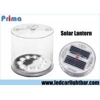 Buy cheap Portable Rechargeable LED Camping Lights / Inflatable LED Solar Lantern from Wholesalers