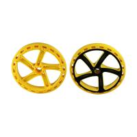 H13 Two Color Multi Material Injection Molding POM Toy Car Wheels 1*2 Cavity