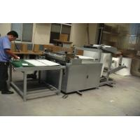 Buy cheap 3KW Fabric Rolling Machine , Easy Operation Fabric Roll Slitting Machine from Wholesalers