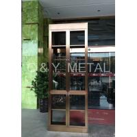 Buy cheap High end stainless steel wine cabinet with rose-gold from Wholesalers