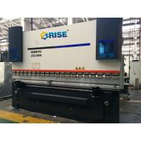 Buy cheap Aluminum CNC Press Brake Bending Machine Automatic Folding 250 Ton With 3 Axis from Wholesalers