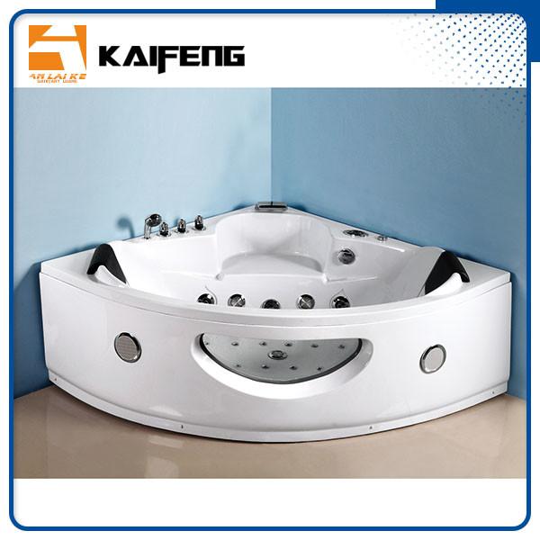Luxury Sector Jacuzzi Corner Bathtub , 2 Person Whirlpool Bathtub ...