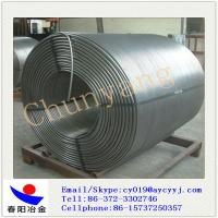 China CaSi Cored Wire for Steel Mill / Calcium Silicon Wire Factory Direct 13mm on sale