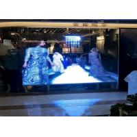 Buy cheap Graphics Transparent Led Display Screen Ultra Thin 10.4mm Pixels For Shopping Mall from Wholesalers