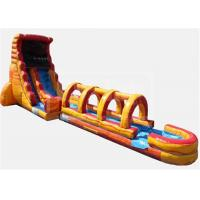 China Obstacle  Jumpy Large Inflatable Water Slide Quick Set Up Conveninet Installation on sale