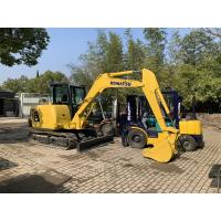 Front blade available Used KOMATSU PC56-7 Excavator For Sale/KOMATSU PC56 for sale