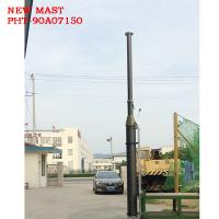 Buy cheap 15m Height 300kg payloads pneumatic telescopic mast telecommunication tower from Wholesalers