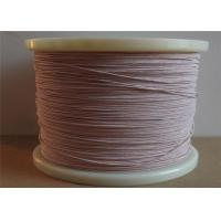 Buy cheap 0.02 - 0.5mm Diameter Strands Enamelled Copper Wire Litz Magnet Wire For Increased Efficiency from Wholesalers