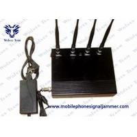 35dBm / 800mW Cell Phone Signal Scrambler , Mobile Phone Jamming Device Dust Resistant