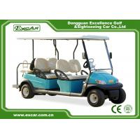 Buy cheap Trojan battery 6 Seats ADC 48V 3.7KW Electric golf Car cheap golf cart for sale from wholesalers