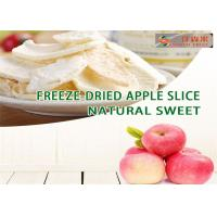 China Natural Dried Sweet Apple Rings, freeze dried fruit  apple chips/slices on sale