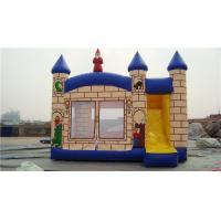 Buy cheap Durable Princess Castle Bounce House , Blow Up Jump House For Musement Parks from Wholesalers