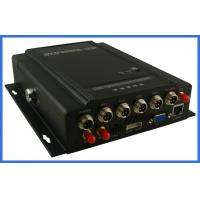 Buy cheap MPEG-4 GPS vehicle DVR 4 channel H.264 Digital Video Recorder  HDD storage support from Wholesalers