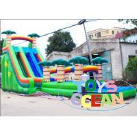 China Double Inflatable Water Slide on sale