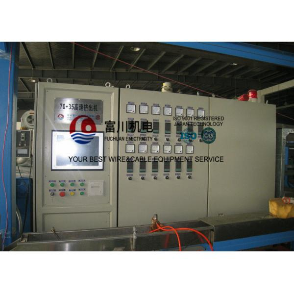 Cable Extrusion Machine For Power Wire Insulated Sheathing Wire Dia ...