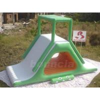 Buy cheap Inflatable Floating Water Slide With Stainless Steel Anchor Rings from Wholesalers