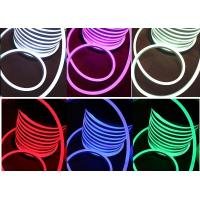 Buy cheap PVC LED RGB LED Neon Flex Multi Color Changing 110V AC Input Voltage from Wholesalers