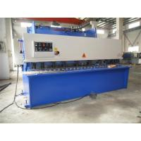 Buy cheap CNC Hydraulic Swing / Guillotine Beam Metal Shearing Machine For Construction Field from Wholesalers