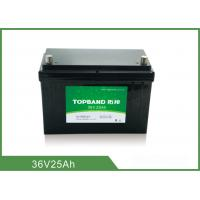 Buy cheap Long Cycle Battery 36V 25AH Rechargeable Lithium Ion Battery from Wholesalers