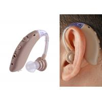 Rechargeable Battery BTE Hearing Aid , Over The Ear Hearing Amplifiers DC 5V Charger