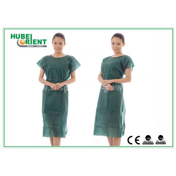 Nonwoven Hospital Isolation Gowns / PP Nursing Hospital Gown For ...