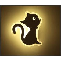 China CAT Acrylic LED indoor wall lighting /Interior led wall lamp for kids room on sale