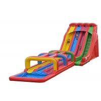 Buy cheap Three Lanes Inflatable Water Slide, Jumbo Water Slide Inflatable For Adults from Wholesalers
