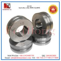 Buy cheap hard alloy roll|tungsten carbide roll|heating pipe reducing machine accessory from Wholesalers