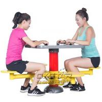 Buy cheap high quality outdoor leisure facility Outdoor Fitness Equipment outdoor chess table from Wholesalers