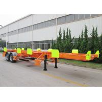 China CIMC 20ft 40ft port terminal duck yard truck tractor trailer for sale on sale