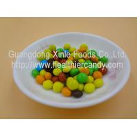 Buy cheap Good Taste Crispy Chocolate Cacao Beans Yellow / Red / Blue Colour Jelly Candy from Wholesalers