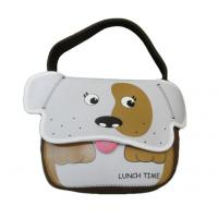 China Cute cartoon neoprene lunch bag school bag for children kids with shoulder strap on sale