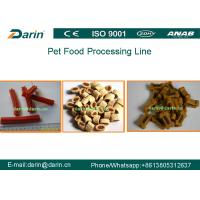 Full Automatic CE Certified Pet food extrusion process extruder machine for fish feed